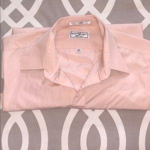 Yves saint laurent mens dress shirt 151/2 34-35